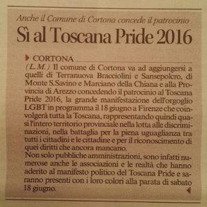 patrocinio Cortona Toscana Pride