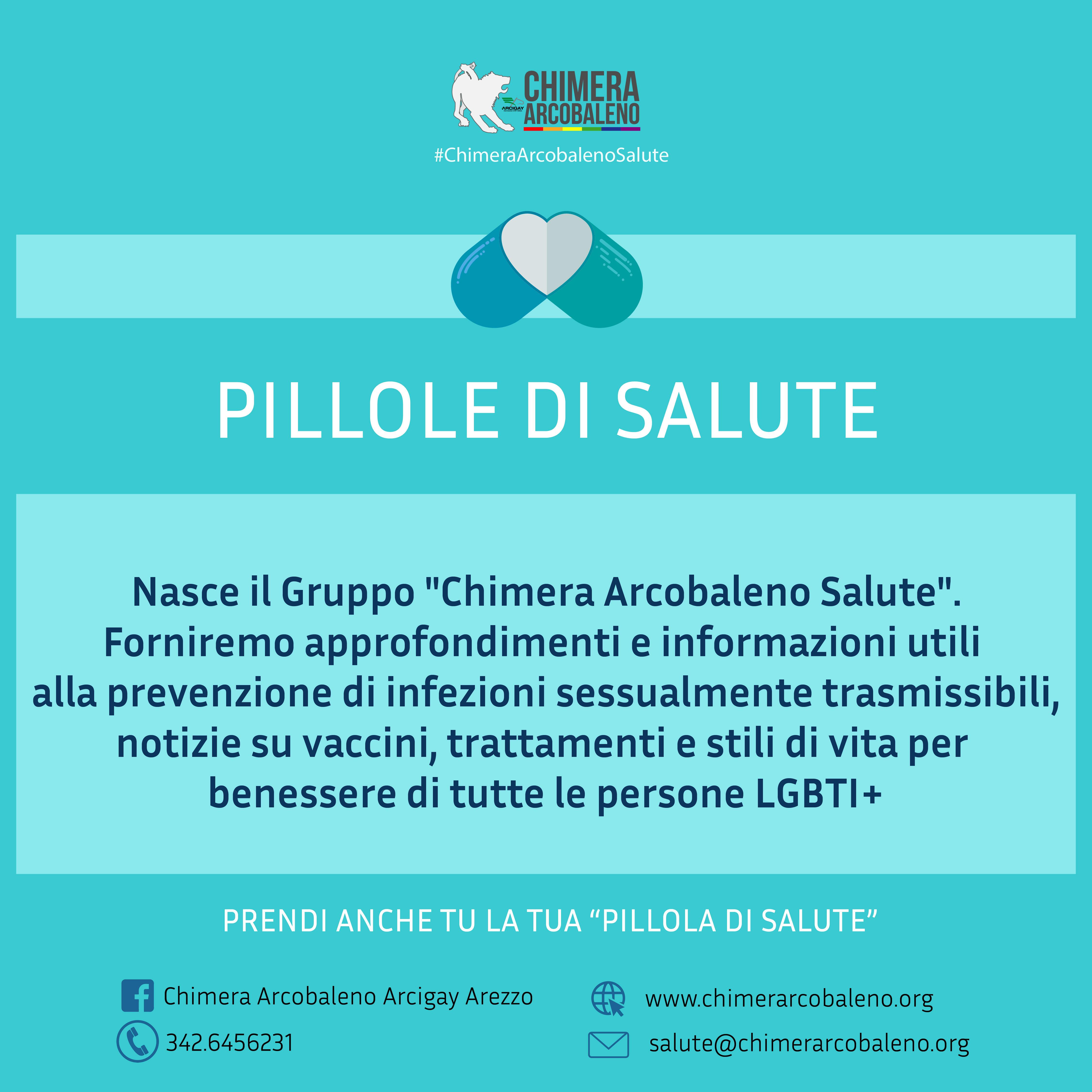 Gruppo Salute Chimera Arcobaleno Arcigay Arezzo